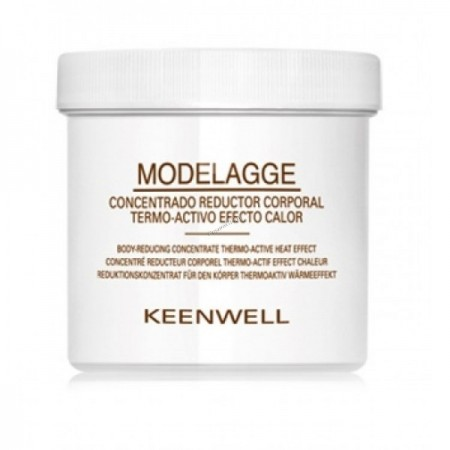 Keenwell Modelagge body reducing concentrate thermo-active and heat effect Термоактивный концентрированный крем, 500 мл